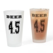 BEER 4.5 team jersey Drinking Glass
