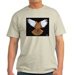 Domestic Flight Pigeon Light T-Shirt