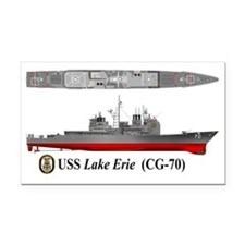 USS Lake Erie CG-70 Rectangle Car Magnet
