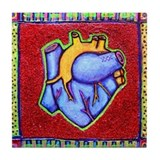 "Bickman ""Heart"" Tile Coaster"