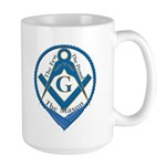 The Few, The Proud, The Mason Large Mug