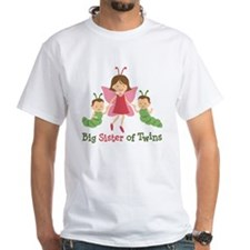 Big Sister of Twins - Butterfly Shirt