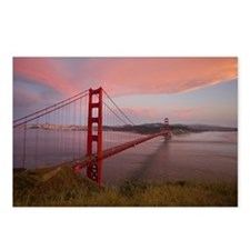 Golden Gate Bridge, San F Postcards (Package of 8)