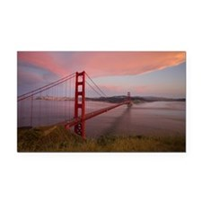 Golden Gate Bridge, San Frans Rectangle Car Magnet