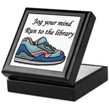 """Jog Your Mind"" Keepsake Box"