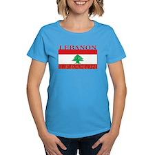 Lebanon Lebanese Flag Tee