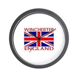 Funny English flag Wall Clock