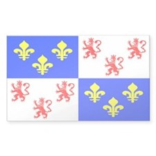 Picardie Rectangle Decal
