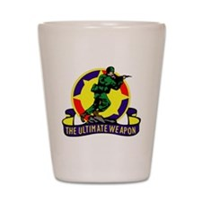 Fort Dix Shot Glass
