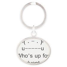 finn Oval Keychain