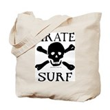 Pirate Surf Tote Bag