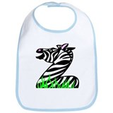 Z is for Zebra Bib