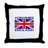 Funny London england Throw Pillow