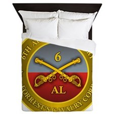 6th Alabama Cavalry Queen Duvet