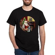 R-Santa-CatahoulaLeopardDog T-Shirt