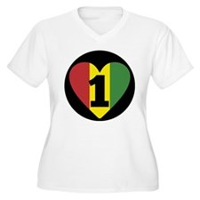 NEW-One-Love-voice-mind6 Plus Size T-Shirt
