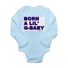 BORN A LIL' G-BABY Body Suit