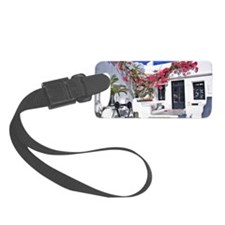 Scenic Mykonos Luggage Tag