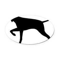 pointerbiz Oval Car Magnet