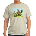 Mille Fleur Rooster & Hen Light T-Shirt