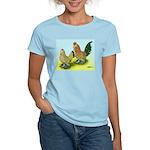 Mille Fleur Rooster & Hen Women's Light T-Shirt