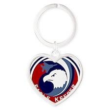 F-15 Eagle Keeper Heart Keychain
