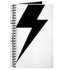 BLACK LIGHTENING BOLT Journal