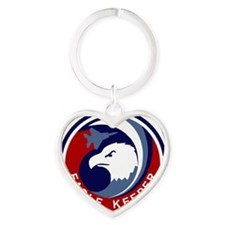 F-15 Eagle Keeper Heart Keychain