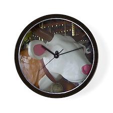 Nederland carousel cow Wall Clock
