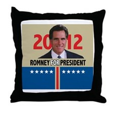 Mitt Romney 2012 Throw Pillow
