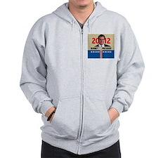 Mitt Romney 2012 Zip Hoodie