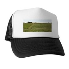 Kite flyer on hill Trucker Hat