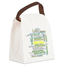 Proud History Teacher Canvas Lunch Bag