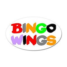 BINGO WINGS! Wall Sticker