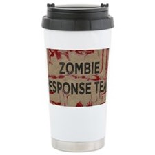 Zombie Response Team Ceramic Travel Mug