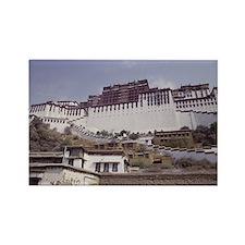 Potala Palace, Lhasa, Tibet, Chin Rectangle Magnet