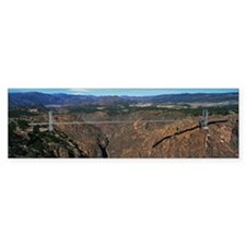 This is the Royal Gorge Bridge wh Bumper Sticker