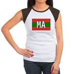 Morocco Colors Women's Cap Sleeve T-Shirt