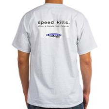 "Gray ""Speed Kills"" T-Shirt"