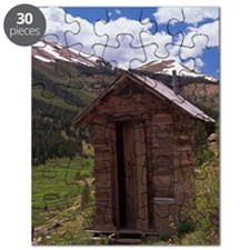 Outhouse near ghost town of Independence, C Puzzle
