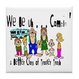 Trailer Trash Tile Coaster