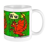 W is for Wyvern Mug