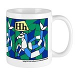 H is for Hippocampus Mug