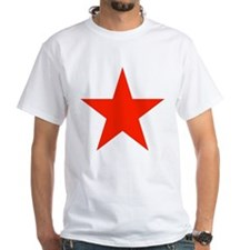 Red Star White T-shirt