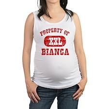 Property of Bianca Maternity Tank Top