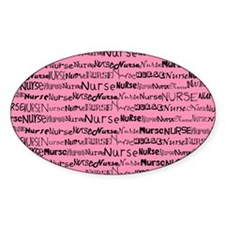 Nurse Nurse Nurse Pink Shoulder Bag Decal