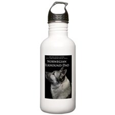 Elkhound Dad Water Bottle
