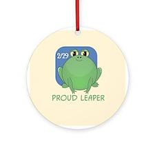Proud Leaper Ornament (Round)