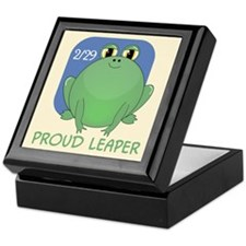 Proud Leaper Keepsake Box