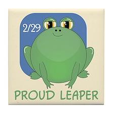 Proud Leaper Tile Coaster